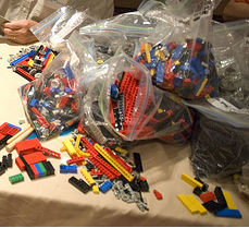 Some small fraction of the legos at CMK08