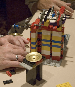 Legos become a music machine on day 1.
